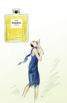 Chanel No 5 by George Goursat