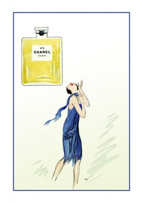 Chanel No 5 (border) by George Goursat