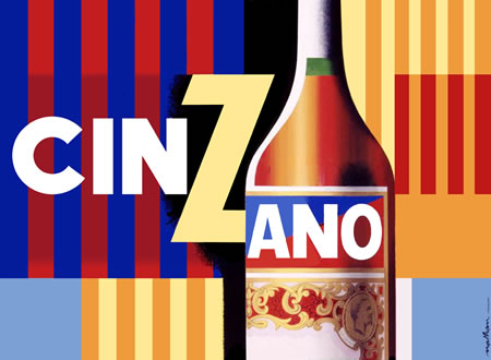 Cinzano by Jacques Nathan-Garamond