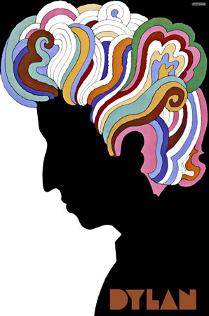 Bob Dylan by Milton Glaser