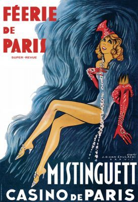 Mistinguett - Feerie de Paris by  anon