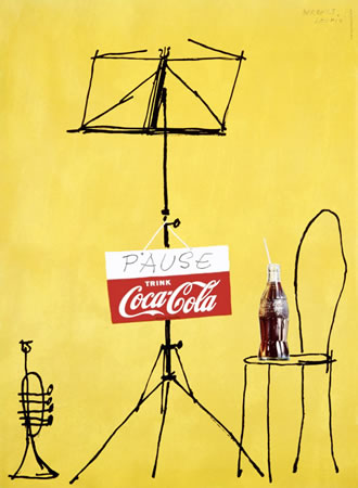 Coca-Cola Pause Music Stand