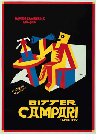 Bitter Campari by Fortunato Depero