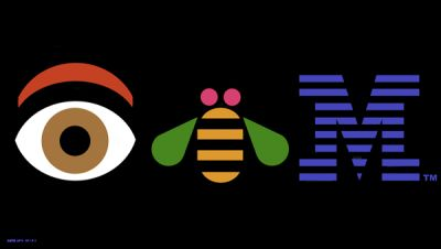Eye-Bee-M IBM wide by Paul Rand