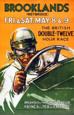 Brooklands Double-Twelve by Gordon Crosby