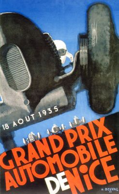Nice GP 1935 by Henri Delval