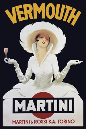 Martini Rossi Vermouth by Marcello Dudovich