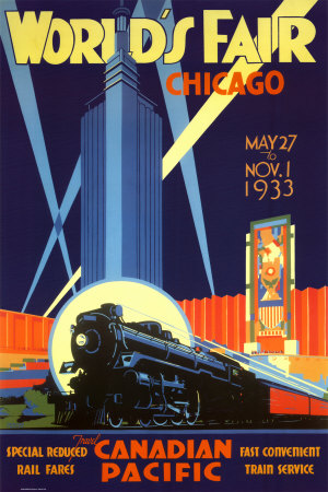 Worlds Fair Chicago-Canadian Pacific by Norman Fraser