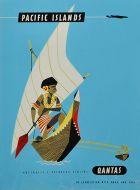 - Qantas Pacific Islands Native In Boat