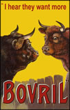 Bovril - 2 Worried Bulls