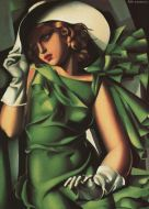 - Young Lady With Gloves